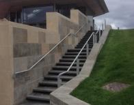 Stair case railings